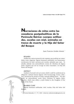 Documento PDF - Cuadernos de Arte Rupestre