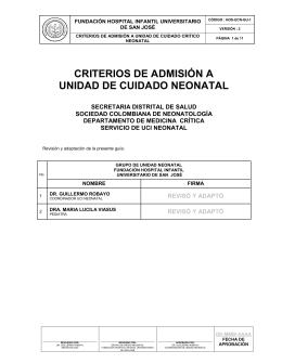 guia de manejo criterios de admision a unidad neonatal