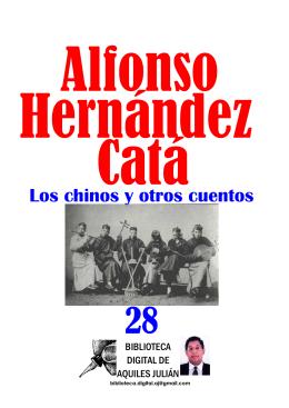 LOS CHINOS Y OTROS CUENTOS, POR ALFONSO HERNÁNDEZ