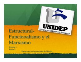 2. estructural funcionalismo y marxismo