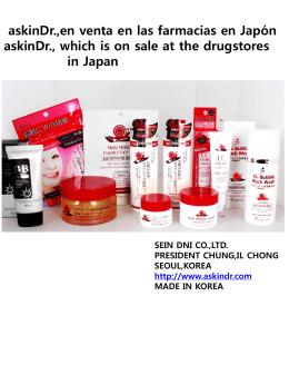 askinDr.,en venta en las farmacias en Japón BB cream con