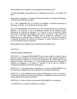 Monclova - Licencias de conducir del estado de Coahuila Zaragoza