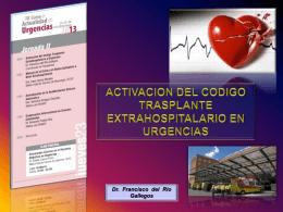 Activación del Código Trasplante