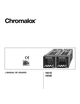 Chromalox 1601 1603