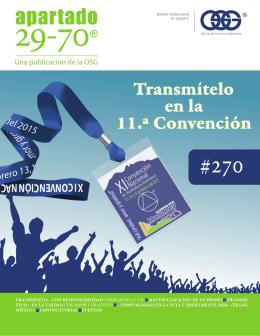 Transmítelo en la 11.ª Convención Transmítelo en la 11.ª Convención