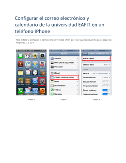 Configurar Iphone y Ipad
