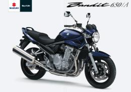 Catálogo de la Suzuki Banit 650