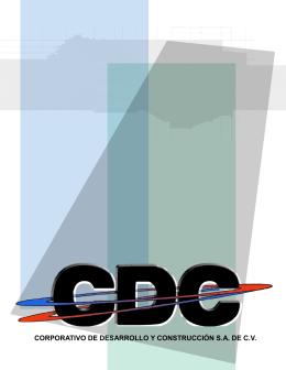 corporativo de desarrollo y construcción sa de cv