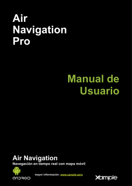 Air Navigation Pro Manual de Usuario