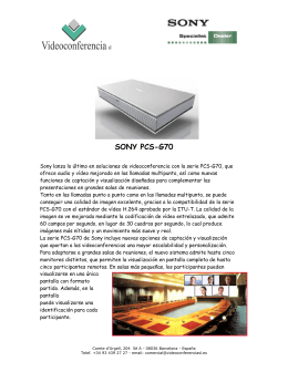 SONY PCS-G70