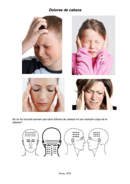 Dolor de cabeza, dolor en oidos