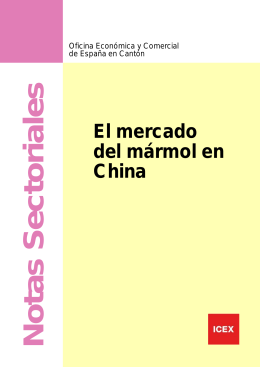 El mercado del mármol en China