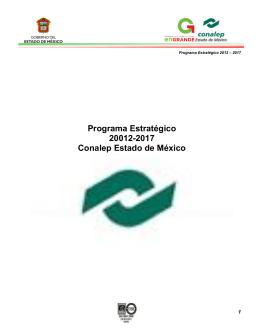 Programa Estratégico 2012-2017