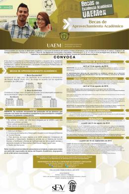 CONVOCA - Universidad Autónoma del Estado de México