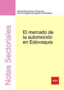 ESLOVAQUIA Mercado de la automoción