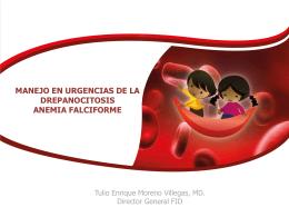 manejo en urgencias de la drepanocitosis anemia falciforme