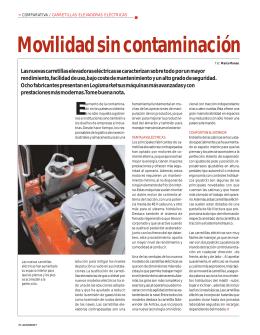 Movilidad sin contaminación