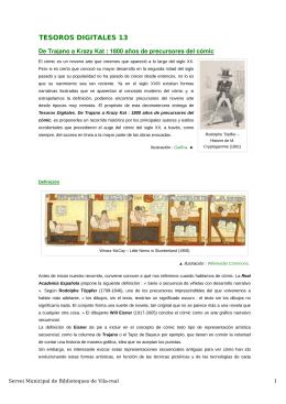 De Trajano a Krazy Kat : 1800 años de precursores del cómic