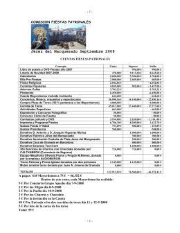 Resumen Cuentas_2008 - Jérez del Marquesado