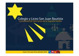 Colegio y Liceo San Juan Bautista