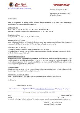 """Colegio bilingüe """"Villa de Móstoles"""""""