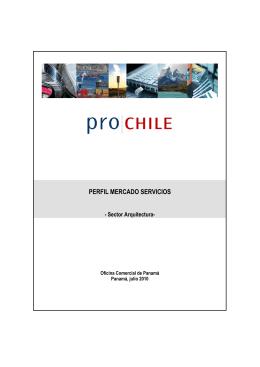Perfil Mecado Servicios - Sector Arquitectura