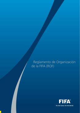 Reglamento de Organización de la FIFA