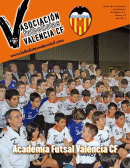 Academia Futsal Valencia CF - Asociación Futbolistas Valencia CF