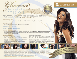 Glamour Show Update Flyer.indd