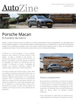 Autozine - Porsche Macan