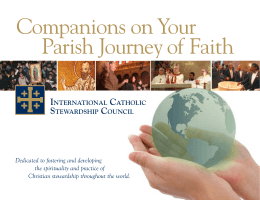 Companions on Your Parish Journey of Faith