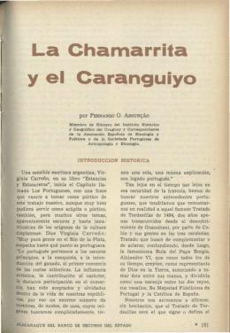 La Chamarrita y el Carangüiyo