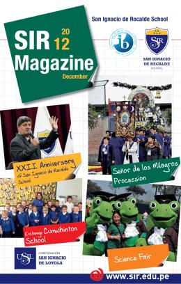 Revista SIR Ingles ok.indd - Colegio San Ignacio de Recalde