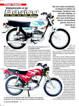 AX 100 - La Revista De Motos