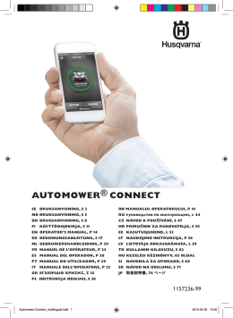 AUTOMOWER® CONNECT