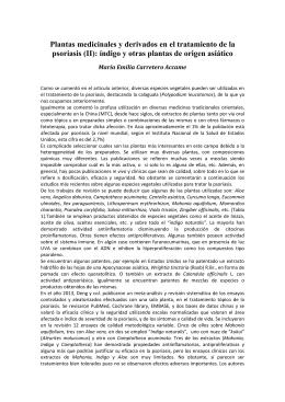 Pam378 Plantas Indigo Psoriasis