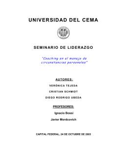 introducción - Universidad del CEMA