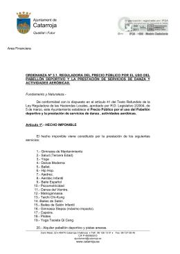 Area Administrativa - Ajuntament de Catarroja