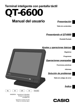 QT-6600 - Support