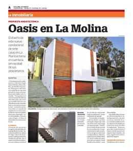 Oasis en La Molina - SACRO Arquitectos
