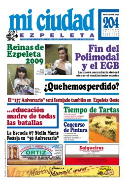 H - Mi ciudad Ezpeleta