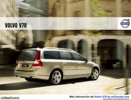 Catálogo del Volvo V70