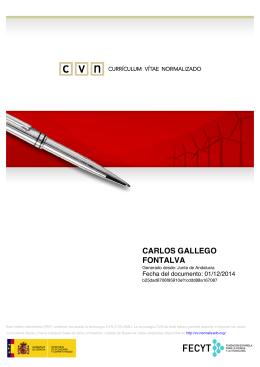 CVN - CARLOS GALLEGO FONTALVA