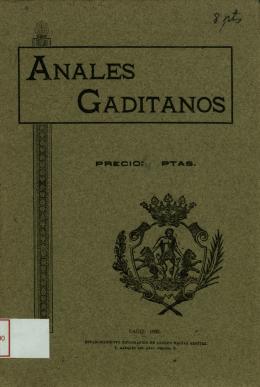 CADIZ: 1905.
