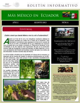 Sabía usted que desde México vino la vid a Sudamérica?