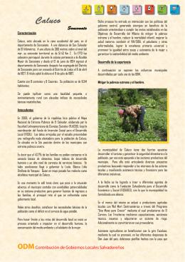 Caluco - COMURES