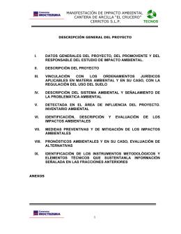 "Cantera de Arcilla ""El Crucero"""