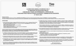 información campo pagado N°TAD-01-2015