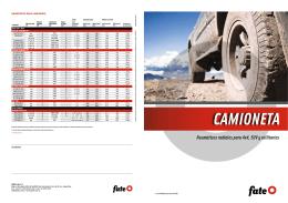 Neumáticos radiales para 4x4, SUV y utilitarios CAMIONETA