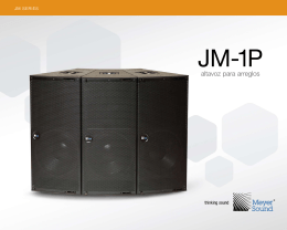JM-1P - Meyer Sound